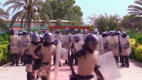 Somali-Police-And-Military-Train-To-Suppress-Terrorism-Rioting-And-Uprising