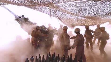 Soldiers-Fire-Heavy-Artillery-In-The-Battlefield-6