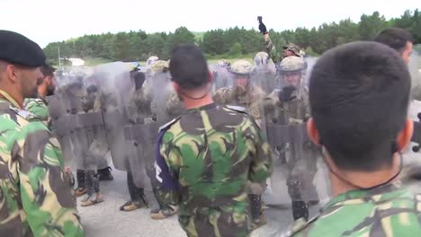 Riot-Police-Practice-Combat-Exercises-Against-Protesters