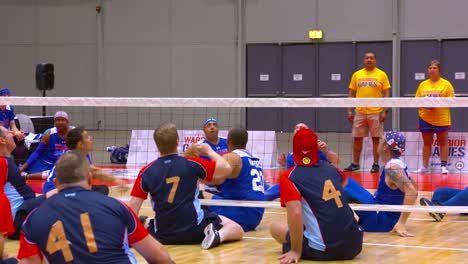 Handicapped-And-Disabled-Veteran-Soldiers-Compete-In-Volleyball-In-The-Air-Force-Wounded-Warrior-Games-3