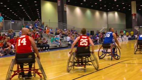 Handicapped-And-Disabled-Veteran-Soldiers-Compete-In-Wheelchair-Basketball-In-The-Air-Force-Wounded-Warrior-Games-1
