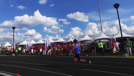 Handicapped-And-Disabled-Veteran-Soldiers-Compete-In-Track-And-Field-In-The-Air-Force-Wounded-Warrior-Games