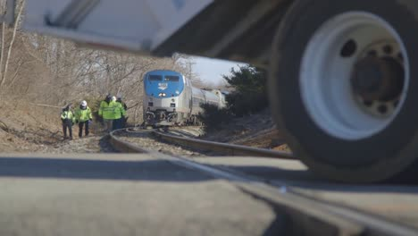 Field-Investigators-From-The-Ntsb-Investigate-An-Amtrak-Train-Crash-Collision-With-Garbage-Truck-In-Virginia-1