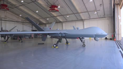 An-Mq9-Reaper-Is-Shown-In-A-Hangar-At-The-Cannon-Air-Force-Base
