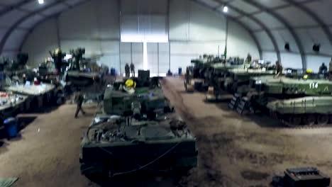 Members-Of-Norways-Telemark-Battalion-Work-On-Their-Tanks