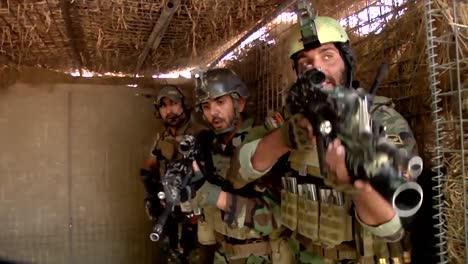 Los-Comandos-Afganos-Se-Mudan-Para-Un-Ejercicio-De-Entrenamiento-En-Kandahar-
