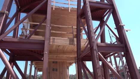 Construction-Workers-Assemble-Structures-To-Withstand-Earthquake-Tests