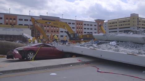 Ntsb-Inspectors-Look-At-The-Collapse-Of-A-Pedestrian-Bridge-Onto-Traffic-At-Florida-International-University-8
