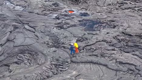 Researchers-Use-Precision-Equipment-At-The-Rim-Of-Kilauea-Volcano-To-Study-Magma-Flow-At-The-Lava-Lake-At-The-Hawaiian-Volcano-Observatory-Hawaii-6