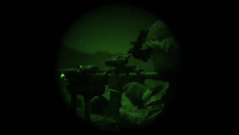 Night-Vision-Shows-Members-Of-The-Us-Armys-1St-Brigade-Combat-Team-10Th-Mountain-Division-Undergoing-Live-Fire-Training-In-Djibouti