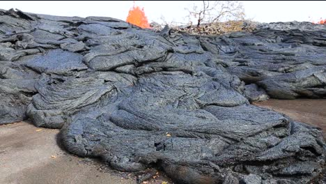 Lava-Flows-Across-A-Road-In-Hawaii-During-The-2018-Kilauea-Volcano-Eruption-1