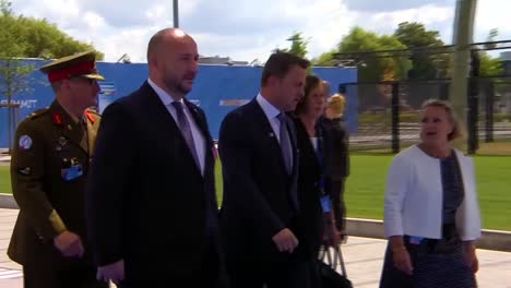 Luxembourg-Prime-Minister-Xavier-Bettel-Arrives-At-The-Nato-Summit-In-Brussels-Belgium-1