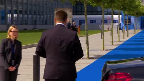 Estonia-Prime-Minister-J-ri-Ratas-Arrives-At-The-Nato-Summit-In-Brussels-Belgium