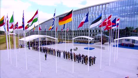 International-Dignitaries-Pose-For-A-Group-Photo-At-The-Nato-Summit-In-Brussels-Belgium-4