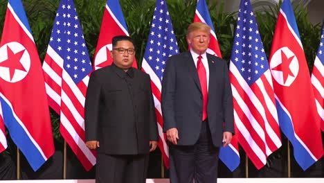 Highlights-From-The-Singapore-Summit-Between-President-Donald-Trump-And-North-Korean-Dictator-Kim-Jong-Un