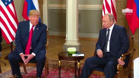 President-Donald-Trump-And-Russian-President-Vladimir-Putin-Meet-Before-The-Media-In-Helsinki-Finland-2