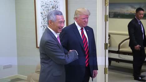 Destacados-De-La-Reunión-Del-Presidente-Donald-Trump-Y-Del-Primer-Ministro-De-Singapur-Lee-Hsien-Loong