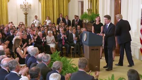 Us-Supreme-Court-Justice-Nominee-Breet-Kavanaugh-Speaks-At-His-Nomination-Ceremony-At-The-White-House-With-President-Donald-Trump-Looking-On