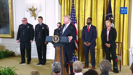 Us-President-Donald-Trump-Awards-The-Medal-Of-Valor-To-American-War-Heroes