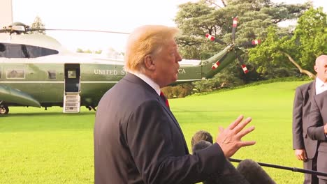 Us-President-Donald-Trump-Claims-That-He-Has-The-Authority-To-Pardon-Himself-And-Says-No-Collusion-Blames-Democrats-For-Colluding