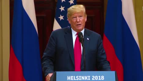 Us-President-Donald-Trump-Holds-A-Disastrous-And-Much-Criticized-Press-Conference-With-Russia-Federation-Vladimir-Putin-Following-Their-Summit-In-Helsinki-Finland-Talks-About-No-Collusion-The-Russian-Probe-And-Hillary-Emails