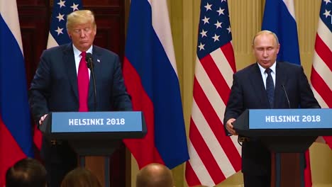 Us-President-Donald-Trump-Holds-A-Disastrous-And-Much-Criticized-Press-Conference-With-Russia-Federation-Vladimir-Putin-Following-Their-Summit-In-Helsinki-Finland-Putin-Speaks-About-Extradition-Cases-From-Russia