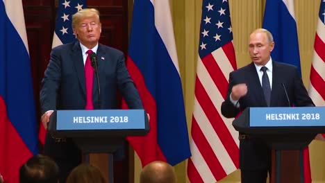 Us-President-Donald-Trump-Holds-A-Disastrous-And-Much-Criticized-Press-Conference-With-Russia-Federation-Vladimir-Putin-Following-Their-Summit-In-Helsinki-Finland-Putin-Says-He-Directed-Agents-To-Help-Campaign-Of-Trump