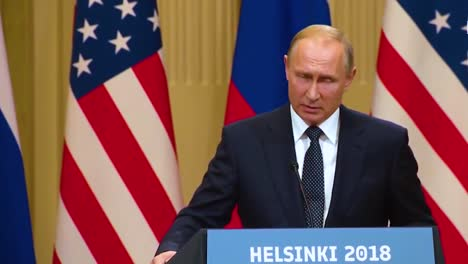 Us-President-Donald-Trump-Holds-A-Disastrous-And-Much-Criticized-Press-Conference-With-Russia-Federation-Vladimir-Putin-Following-Their-Summit-In-Helsinki-Finland-Putin-Speaks-About-Compromising-Materiasl-On-Trump-Comprimat