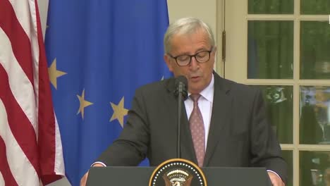 Us-President-Donald-Trump-At-A-Joint-Press-Conference-With-European-Commission-Jeanclaude-Juncker-At-The-White-House-Discusses-Trade-Policy-4