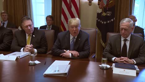Us-President-Donald-Trump-Speaks-Before-A-Cabinet-Meeting-About-Extremist-Open-Border-Democrats-Who-Oppose-His-Immigration-Policy