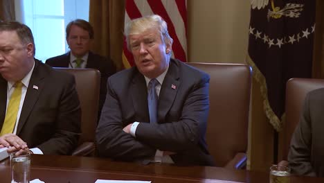 Us-President-Donald-Trump-Speaks-Before-A-Cabinet-Meeting-About-Mexico-And-How-They-Do-Nothing-For-America-In-Regards-To-Immigration