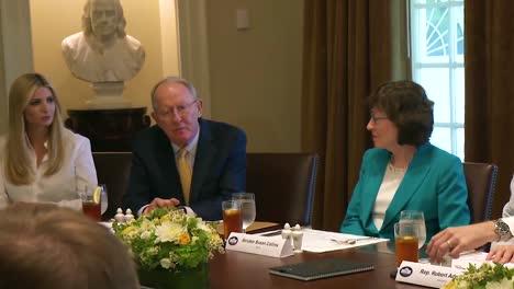 Tennessee-Senator-Lamar-Alexander-Advises-Us-President-Donald-Trump-On-Supercomputing-Ivanka-Trump-And-Susan-Collins-Visible