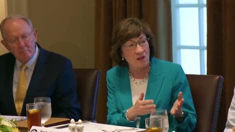 Maine-Senator-Susan-Collins-Advises-Us-President-Donald-Trump-In-The-White-House-1