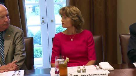 Alaska-Senator-Lisa-Murkowski-Advises-Us-President-Donald-Trump-On-Anwr-Development-In-The-Arctic