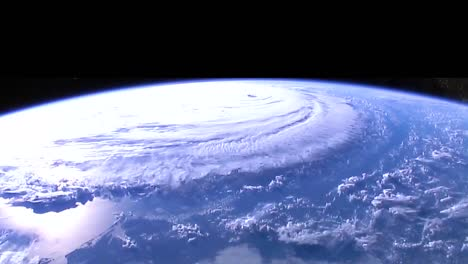 Shots-From-Nasa-Space-Station-Of-Hurricane-Florence-Approaching-The-Coast-Of-North-America-3