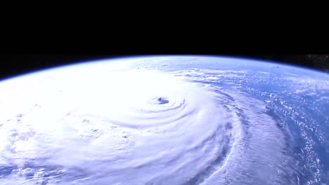Shots-From-Nasa-Space-Station-Of-Hurricane-Florence-Approaching-The-Coast-Of-North-America-4