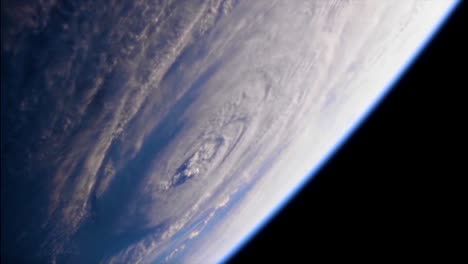 Shots-From-Nasa-Space-Station-Of-Hurricane-Florence-Approaching-The-Coast-Of-North-America-6