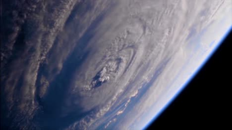 Shots-From-Nasa-Space-Station-Of-Hurricane-Florence-Approaching-The-Coast-Of-North-America-7