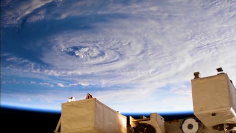 Shots-From-Nasa-Space-Station-Of-Hurricane-Florence-Approaching-The-Coast-Of-North-America-8