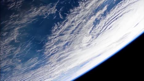 Shots-From-Nasa-Space-Station-Of-Hurricane-Florence-Approaching-The-Coast-Of-North-America-11