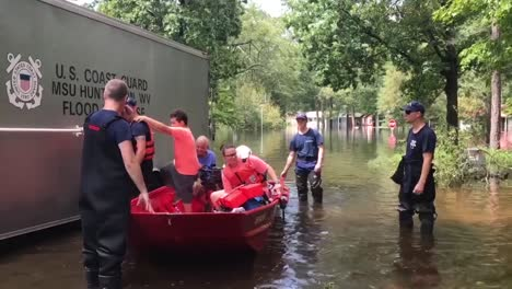 Search-And-Rescue-Personnel-In-Small-Boats-Rescue-Citizens-Of-North-Carolina-During-Hurricane-Florence-2