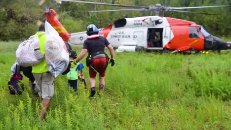 Coast-Guard-Personnel-Rescue-And-Evacuate-Stranded-People-During-Flooding-Of-Hurricane-Florence-1