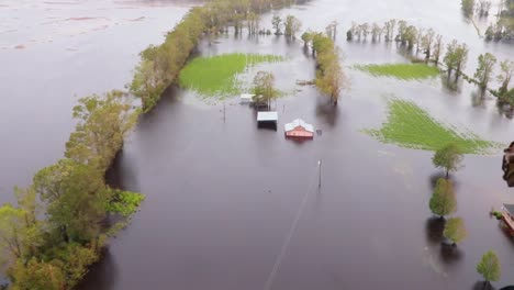 Helicopter-Aerials-Over-The-Flooding-And-Damage-Destruction-Caused-By-Hurricane-Florence-In-North-Carolina
