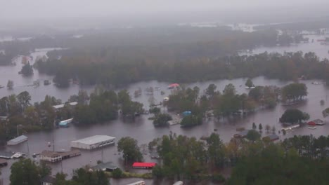 Helicopter-Aerials-Over-The-Flooding-And-Damage-Destruction-Caused-By-Hurricane-Florence-In-North-Carolina-1