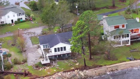 Helicopter-Aerials-Over-The-Flooding-And-Damage-Destruction-Caused-By-Hurricane-Florence-In-North-Carolina-2
