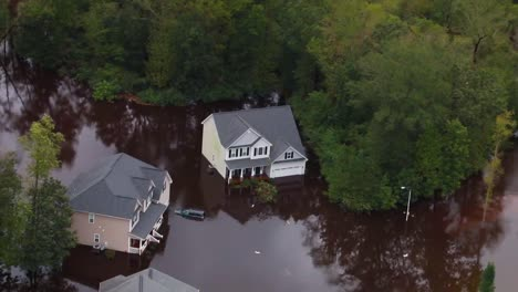 Helicopter-Aerials-Over-The-Flooding-And-Damage-Destruction-Caused-By-Hurricane-Florence-In-North-Carolina-3