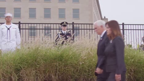 Us-Vice-President-Mike-Pence-Honors-Victims-Of-911-On-September-11