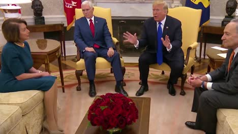 Us-President-Donald-Trump-Meets-With-Chuck-Schumer-And-Nancy-Pelosi-At-White-House-To-Discuss-Immigration-And-The-Border-Wall-Trump-Claims-That-10-Terrorists-Were-Caught-Crossing
