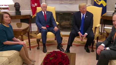 Us-President-Donald-Trump-Meets-With-Chuck-Schumer-And-Nancy-Pelosi-At-White-House-To-Discuss-Immigration-And-The-Border-Wall-And-They-Argue-Over-A-Government-Shutdown-And-Border-Security