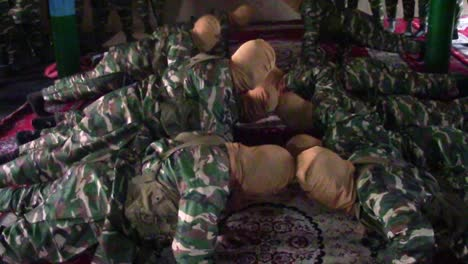 Isis-Troops-Undergo-Training-In-A-Darzab-Mosque-In-Afghanistan-In-This-Propaganda-Video-Captured-During-A-Raid-By-Us-Soldiers